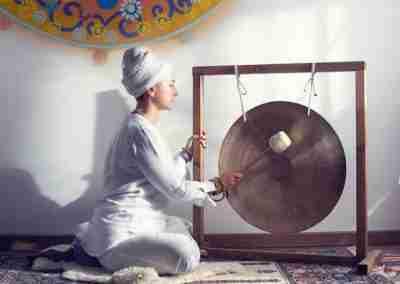 Bagno Sonoro con il Gong