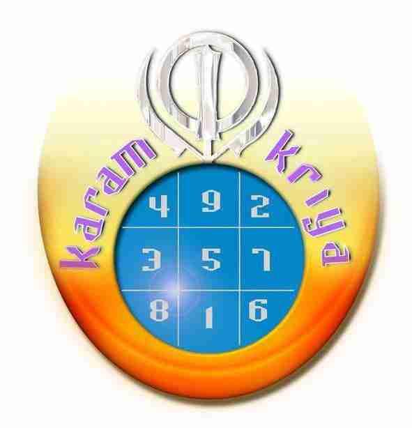 Karam Krya Numerologia Logo